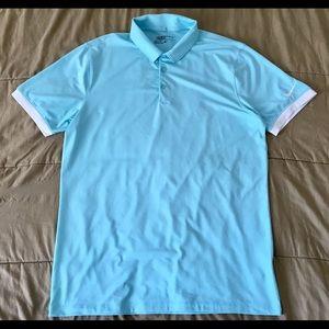 Nike Golf Standard Fit Dri-Fit Polo Shirt Men Sz M